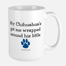 Wrapped Around His Paw (Chihuahua) Mug