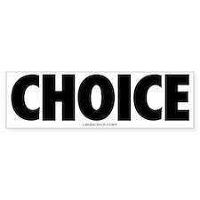 Pro Choice Bumper Bumper Bumper Sticker