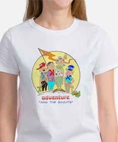 ADVENTURE-BOY SCOUTS II Women's T-Shirt