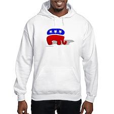 3D GOP Republican Elephant Hoodie