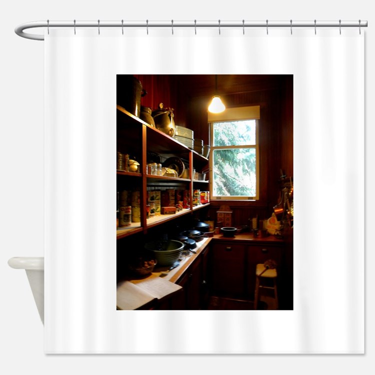 Pantry Shower Curtain