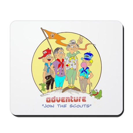 ADVENTURE-BOY SCOUTS II Mousepad