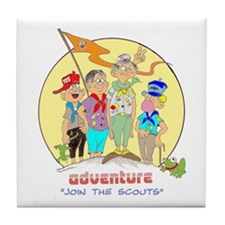 ADVENTURE-BOY SCOUTS II Tile Coaster