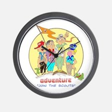 ADVENTURE-BOY SCOUTS II Wall Clock