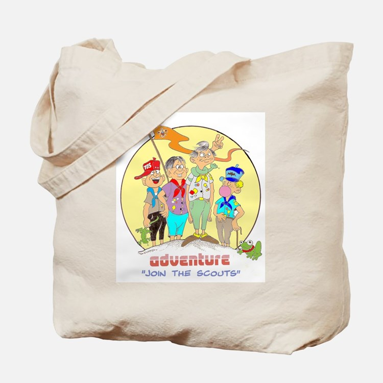 ADVENTURE-BOY SCOUTS II Tote Bag