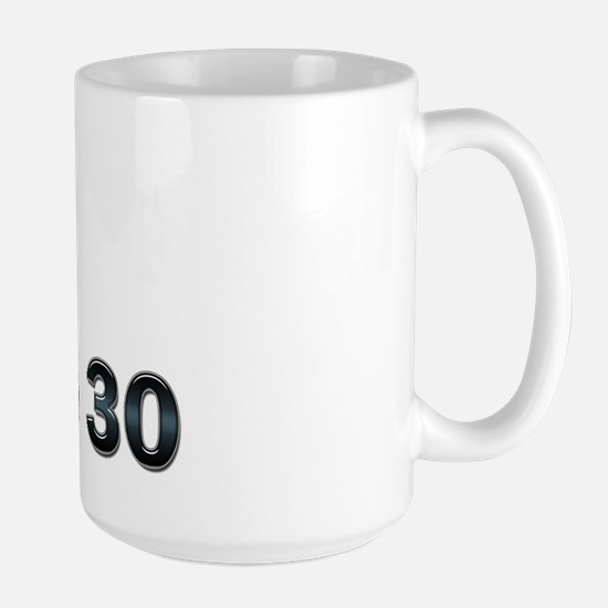 PHD before 30 Large Mug