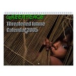 Greenpeace Threatened Future Wall Calendar