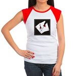 Cracked Aces Women's Cap Sleeve T-Shirt