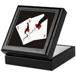 Cracked Aces Keepsake Box