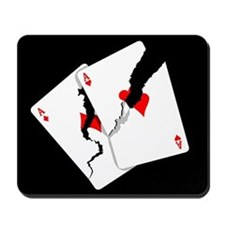 Cracked Aces Mousepad