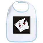 Cracked Aces Bib