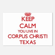 Keep calm you live in Cor Postcards (Package of 8)