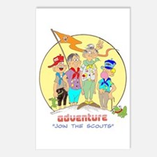 ADVENTURE-BOY SCOUTS II Postcards (Package of 8)
