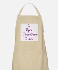 I Spin Therefore I Am 5 BBQ Apron