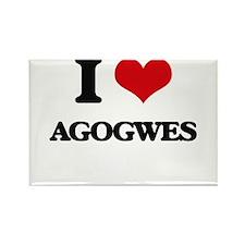 I love Agogwes Magnets