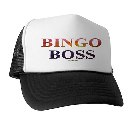 Bingo Boss Engrave MT Trucker Hat