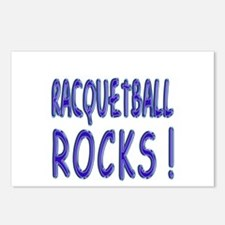 Racquetball Rocks ! Postcards (Package of 8)