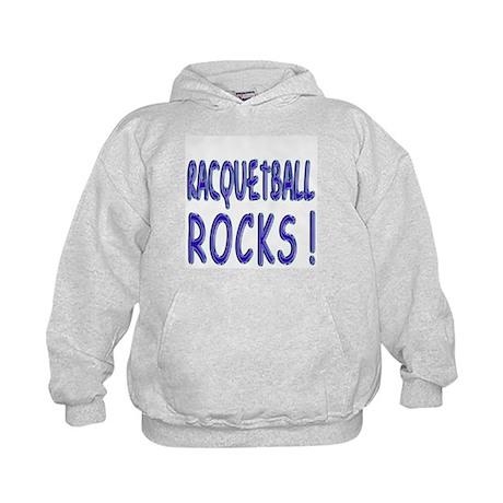 Racquetball Rocks ! Kids Hoodie