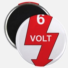 6 Volt Red Magnet