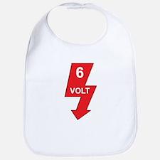 6 Volt Red Bib