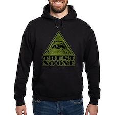 Trust No One (vintage distressed look) Hoodie