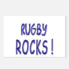 Rugby Rocks ! Postcards (Package of 8)