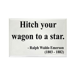 Ralph Waldo Emerson 1 Rectangle Magnet