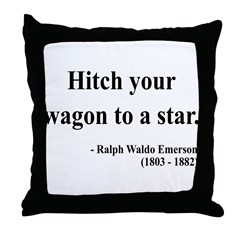 Ralph Waldo Emerson 1 Throw Pillow