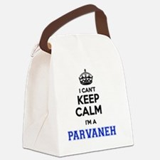 Cool Parvaneh Canvas Lunch Bag