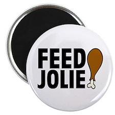 Feed Jolie Magnet