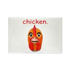 Chicken Rectangle Magnet (10 pack)