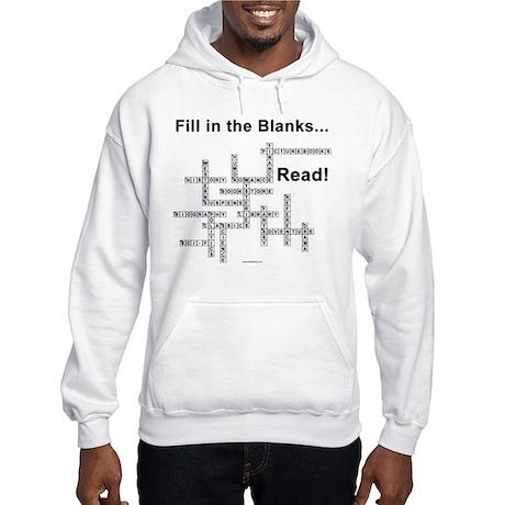 Fill in the Blanks Hooded Sweatshirt