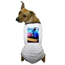 Bowling Gnome Dog T-Shirt