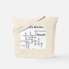Fill in the Blanks Tote Bag