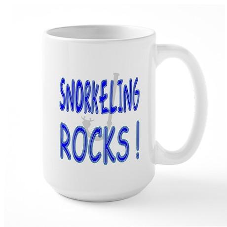 Snorkeling Rocks ! Large Mug