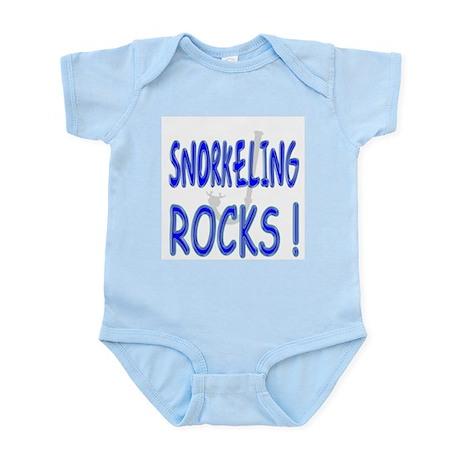 Snorkeling Rocks ! Infant Bodysuit