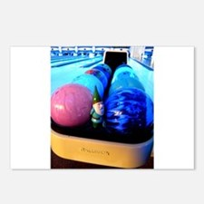 Bowling Gnome Postcards (Package of 8)