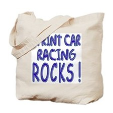 Sprint Car Racing Rocks ! Tote Bag