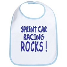Sprint Car Racing Rocks ! Bib