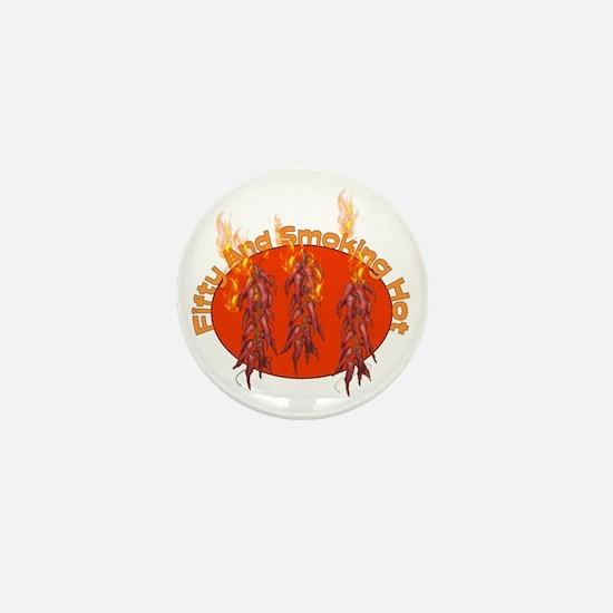 50th Birthday Hottie Mini Button