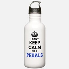 Funny Keep calm and pedal Water Bottle