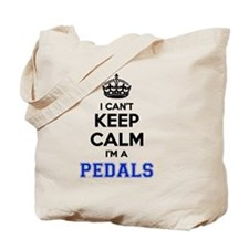 Cool Keep calm and pedal Tote Bag