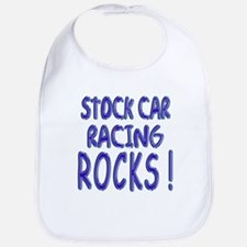 Stock Car Racing Rocks ! Bib