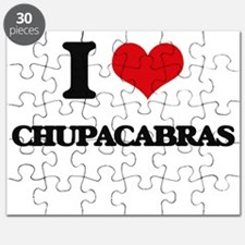 I love Chupacabras Puzzle