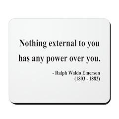 Ralph Waldo Emerson 15 Mousepad