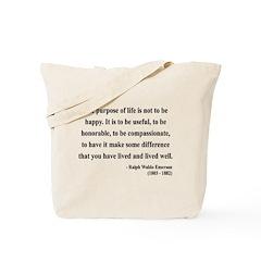 Ralph Waldo Emerson 17 Tote Bag