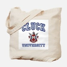 CLUCK University Tote Bag