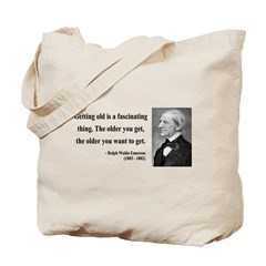 Ralph Waldo Emerson 18 Tote Bag