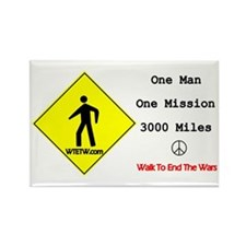 Funny Bring home troops Rectangle Magnet