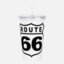 Route 66 Logo from ant Acrylic Double-wall Tumbler
